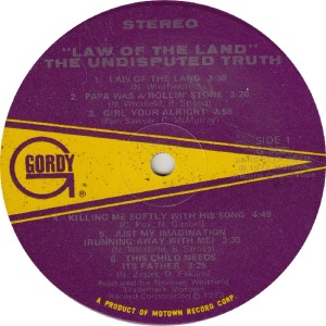 GORDY 963 - UND TRUTH - R