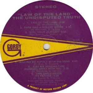 GORDY 963 - UND TRUTH - R