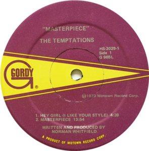 GORDY 965 - TEMPTATIONS C
