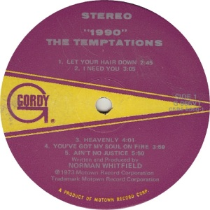 GORDY 966 - TEMPS - R
