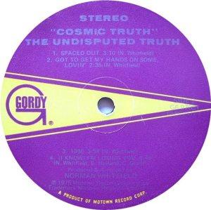 GORDY 970 - UND TRUTH F