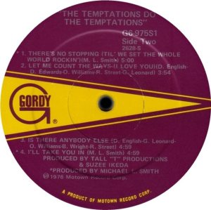 GORDY 975 - TEMPS D