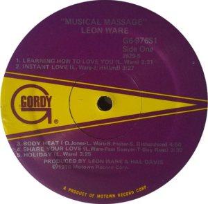 GORDY 976 - WARE LEON C