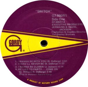 GORDY 980 - SWITCH C