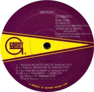 GORDY 980 - SWITCH C