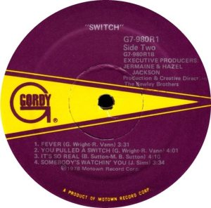 GORDY 980 - SWITCH D