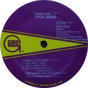 GORDY 981 - JAMES R - C