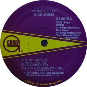 GORDY 981 - JAMES R - D