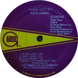 GORDY 981 - JAMES R - D