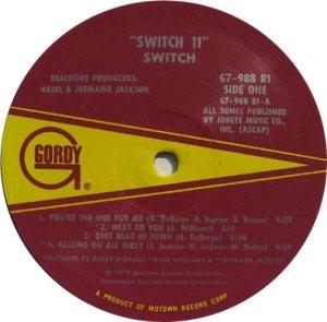 GORDY 988 - SWITCH C
