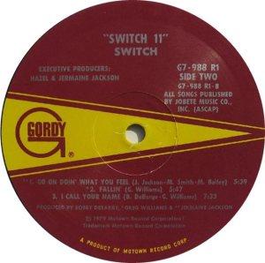 GORDY 988 - SWITCH D