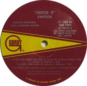 GORDY 988 - SWITCH D