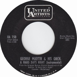 MARTIN GEORGE - HARD DAY'S