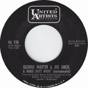 MARTIN GEORGE - HARD DAY'S
