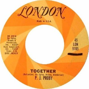 Proby, P.J. - London 9705 DJ - Together R