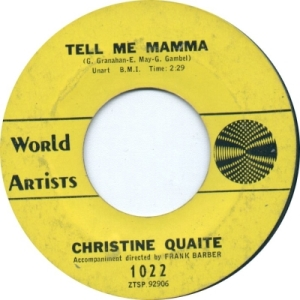 Quaite, Christine - Mama