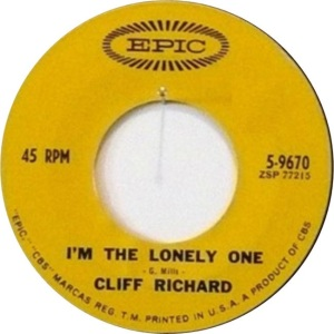 Richard, Cliff - Epic 9670 - I'm The Lonely One