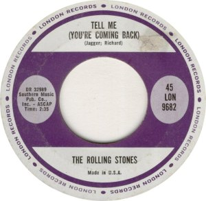 ROLLING STONES TELL ME R