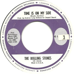 ROLLING STONES TIME IS ON R
