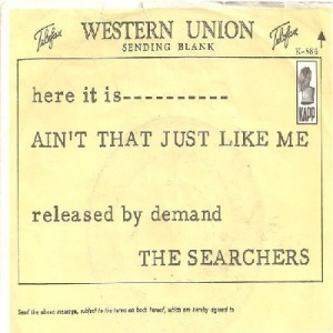 Searchers - Kapp 584 - Ain't That Just Like Me PS
