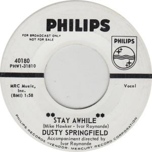 SPRINGFIELD DUSTY - PHILIPS 40180 DJ