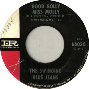 Swinging Blue Jeans - Imperial 66030 - Good Molly Miss Molly
