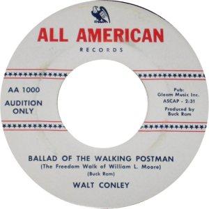 ALL AMERICAN 1000 - CONLEY WALT - A