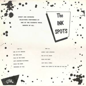 Band Box 1002 LP - Ink Spots B