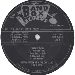 Band Box 1005 LPR1 - Mosse, George - Copy