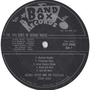 Band Box 1005 LPR1 - Mosse, George - Copy