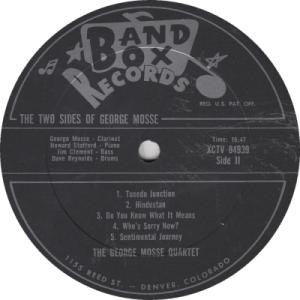 Band Box 1005 LPR2 - Mosse, George - Copy