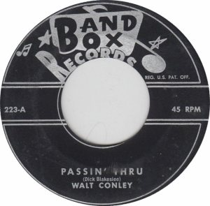 BAND BOX 223 - CONLEY - WALT A