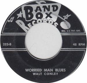 BAND BOX 223 - CONLEY - WALT B