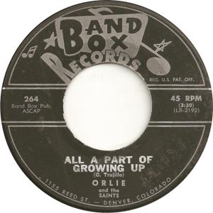 Band Box 264 - Orlie & Saints - All Part of Growing Up