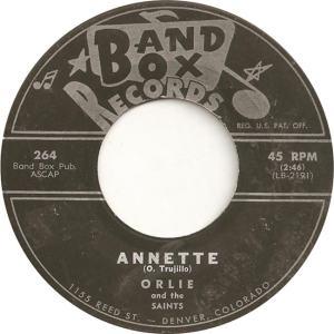 Band Box 264 - Orlie & Saints - Annette