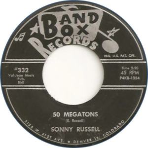 Band Box 332 - Russell, Sonny - 50 Megatons