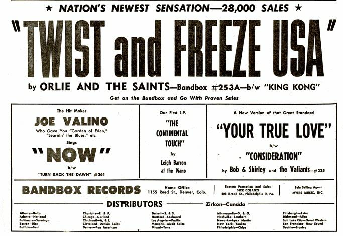 Band Box - BB Ad - 2-27-61