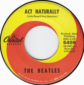 BEATLES - ACT NATURALLY
