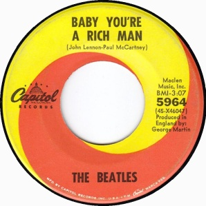BEATLES - BABY YOU'RE A RICH