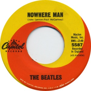 BEATLES - CAP A NOWHERE MAN