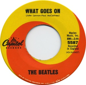 BEATLES - CAP A WHAT GOES ON