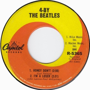 BEATLES - HONEY DON'T