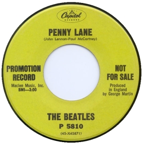 BEATLES - PENNY LANE