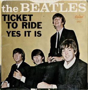 BEATLES - TICKET TO RIDE PS