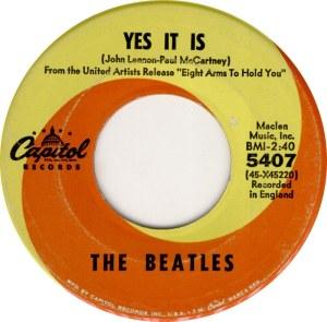 BEATLES - YES IT IS