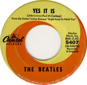 BEATLES - YES IT IS