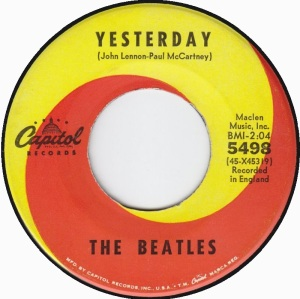 BEATLES - YESTERDAY