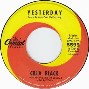 BLACK CILLA - CAPITOL 5595 - RA
