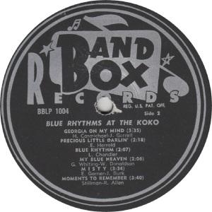 BLUE RHYTHMS BAND BOX RB