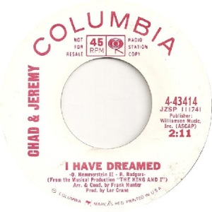 chad-and-jeremy-i-have-dreamed-columbia